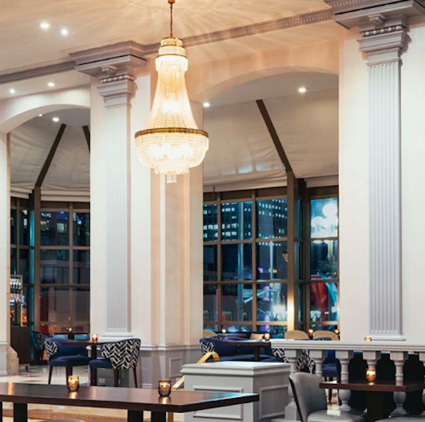 The Chateau Laurier Has Redone Their Lounge Into A Trendy
