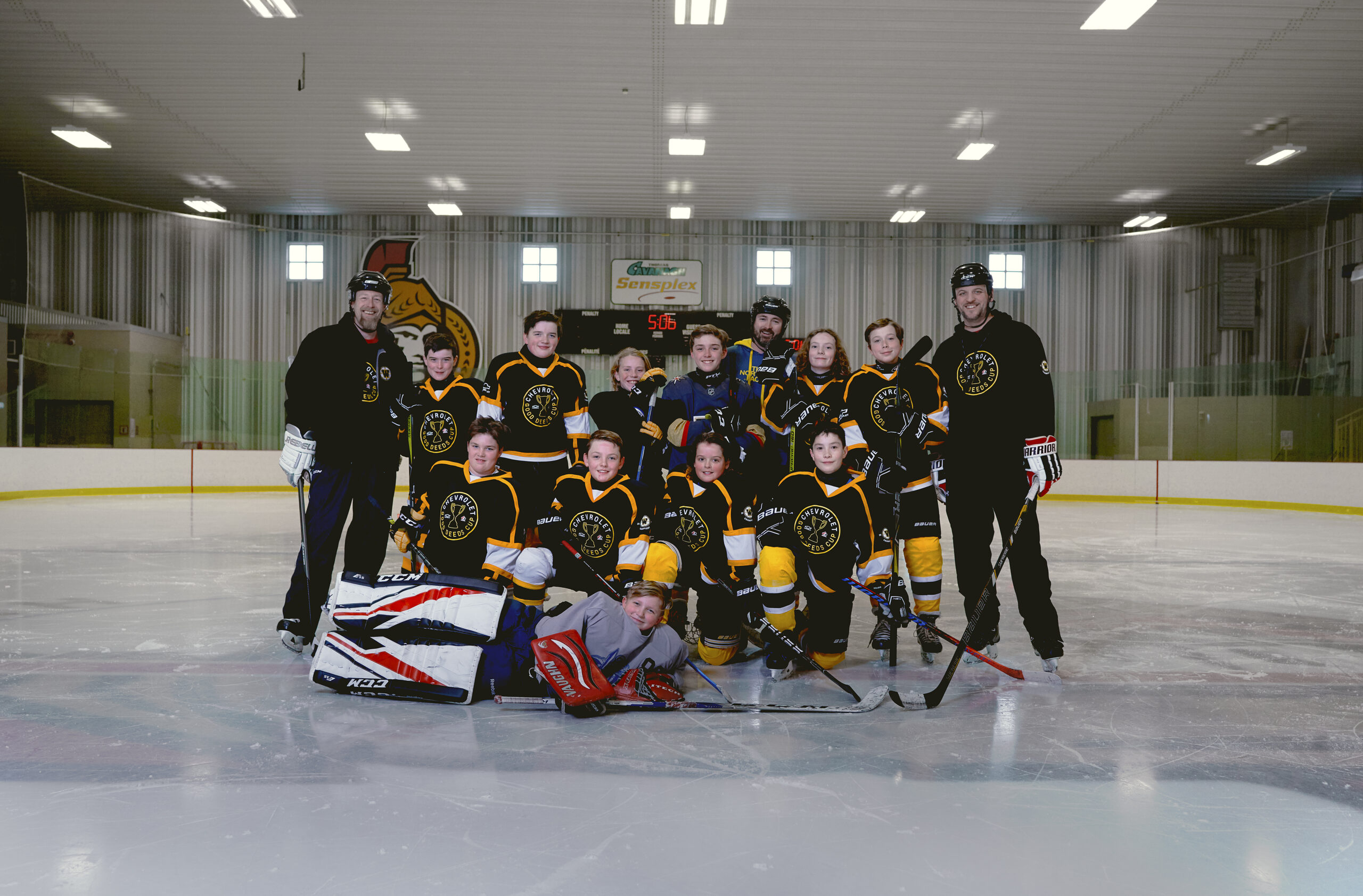 the west carleton warriors bring home chevy good deeds cup